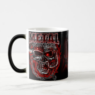 Heavy Metal Monster 11 Oz Magic Heat Color-Changing Coffee Mug