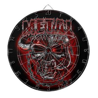 Heavy Metal Monster Dartboards
