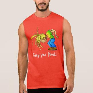 Heavy Metal Mosh Pit HeadBanger Party Animal Sleeveless Shirt