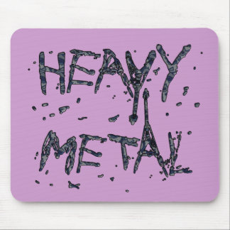 HEAVY METAL MOUSE PAD