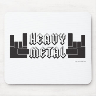 Heavy Metal! Mouse Pads