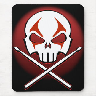 Heavy Metal Mouspad Rock & Roll Drummer Mouse Pad