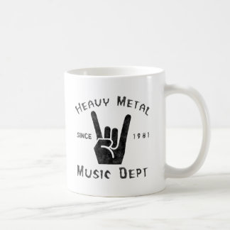 Heavy Metal Music Department Coffee Mug