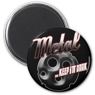 Heavy Metal music t shirt hat hoodie sticker stuff 2 Inch Round Magnet