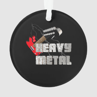 Heavy metal ornament
