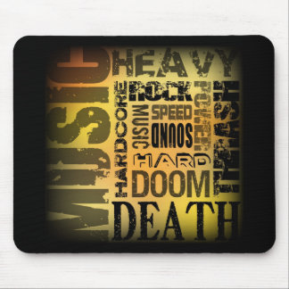 Heavy Metal Party Mouse Pad
