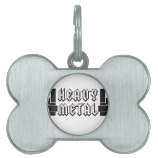 Heavy Metal! Pet ID Tags