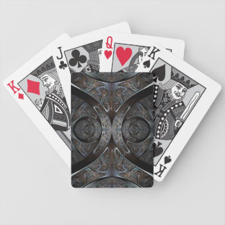 Heavy metal playing cards