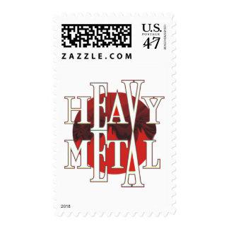 Heavy Metal Postage Stamp
