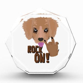 Heavy metal Puppy rock on Award