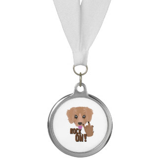 Heavy metal Puppy rock on Medal