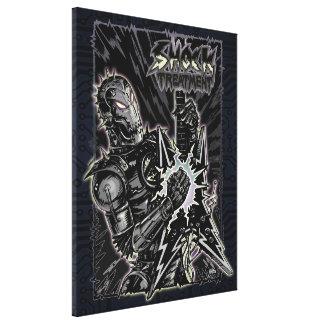 Heavy Metal Robot Canvas Print