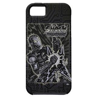Heavy Metal Robot iPhone 5 Cover