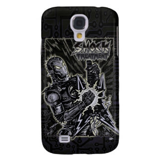 Heavy Metal Robot Galaxy S4 Covers