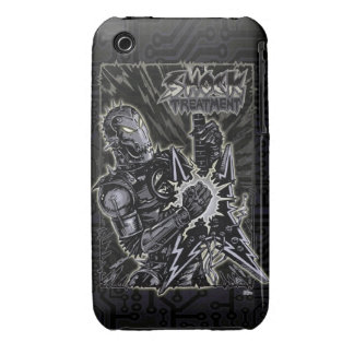 Heavy Metal Robot Case-Mate iPhone 3 Case