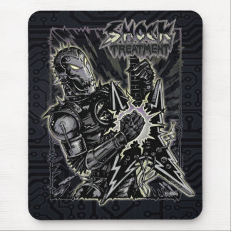 Heavy Metal Robot Mouse Pad
