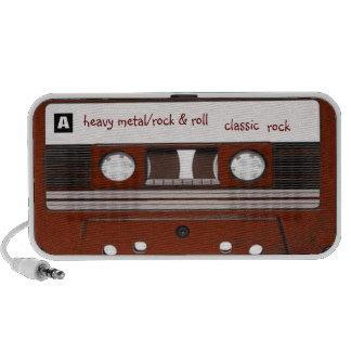 Heavy Metal/Rock & Roll Doodle Portable Speaker