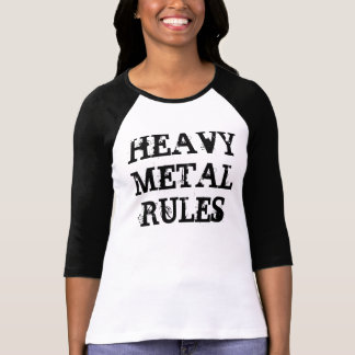 HEAVY METAL RULES T SHIRT