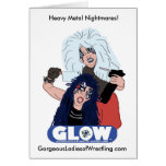 Heavy Metal Sisters Greeting Card