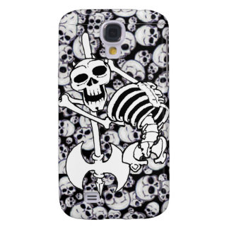 Heavy Metal Skeleton Samsung Galaxy S4 Cases