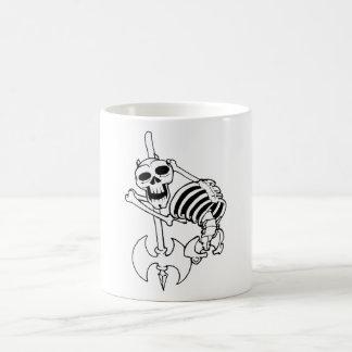 Heavy Metal Skeleton Coffee Mug
