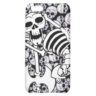 Heavy Metal Skeleton Cover For iPhone 5C
