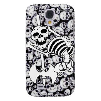 Heavy Metal Skeleton Samsung Galaxy S4 Case