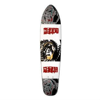 #Heavy Metal Skeleton university sex skateboard