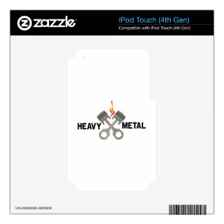 Heavy Metal Skin For iPod Touch 4G