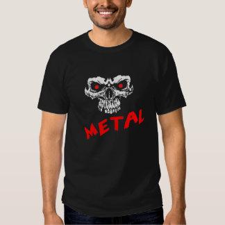 Heavy Metal Skull Shirt