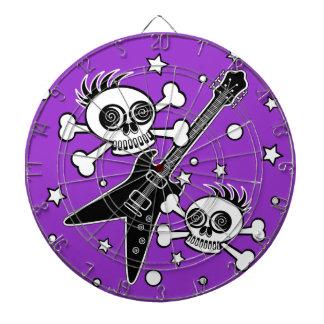 Heavy Metal Skulls Dart Boards