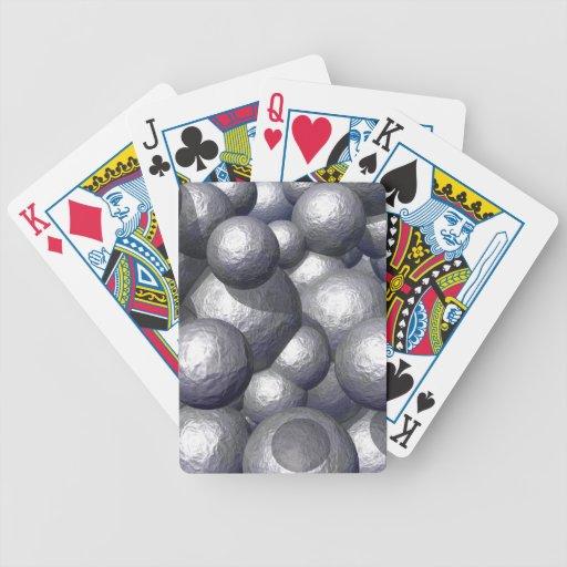 Heavy Metal Spheres Playing Cards