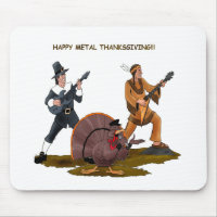 Heavy Metal Thanksgiving Gift Items Mouse Pad
