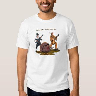 Heavy Metal Thanksgiving Gift Items T Shirts