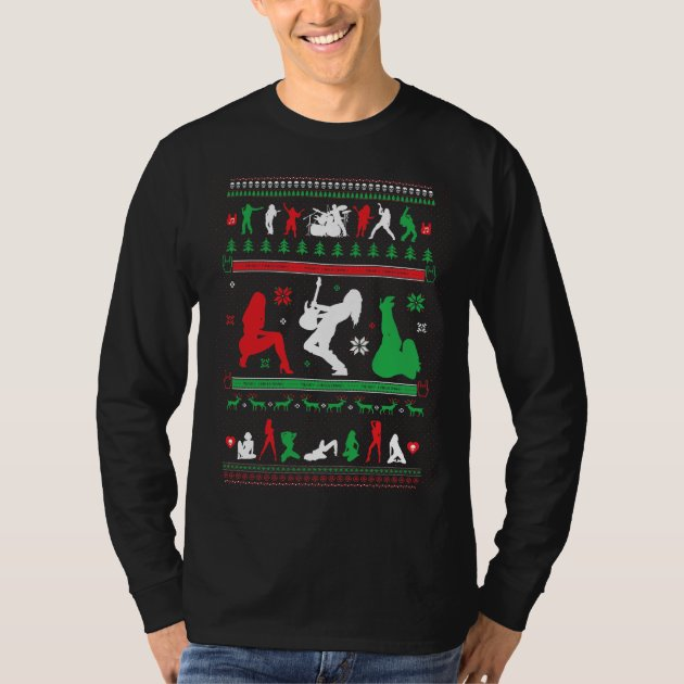HEAVY METAL UGLY CHRISTMAS SWEATER SHIRT | Zazzle.com