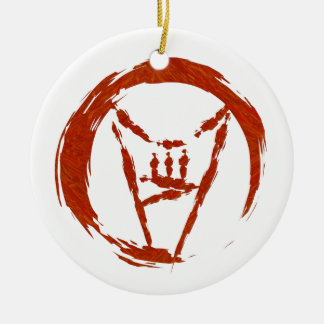 Heavy Metal Universe Logo Ceramic Ornament