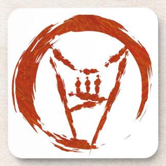 Heavy Metal Universe Logo Drink Coaster