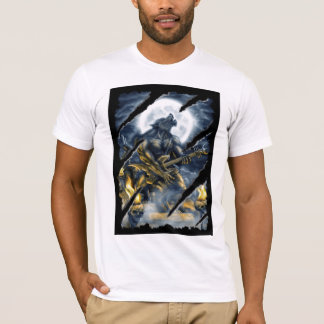 Heavy metal werewolf T-Shirt