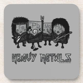 Heavy Metals Coaster