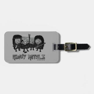 Heavy Metals Luggage Tag