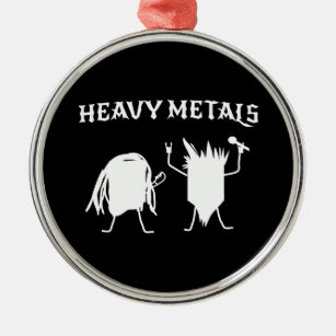 heavy metals metal ornament - Heavy Metal Christmas Decorations