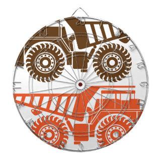 Heavy Mining Truck Dartboards