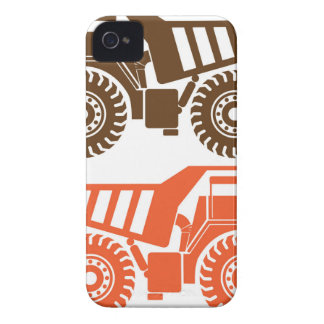 Heavy Mining Truck iPhone 4 Case