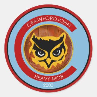 Heavy Mob Sticker Sheet