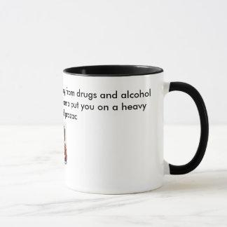 Heavy regimen of prozac mug