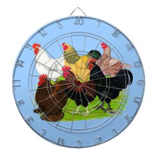 Heavy Rooster Assortment Dart Boards