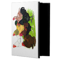 Heavy Rooster Assortment iPad Air Cover