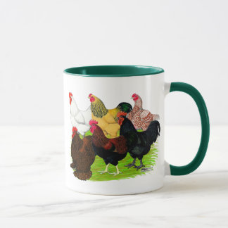 Heavy Rooster Assortment Mug