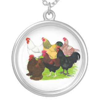 Heavy Rooster Assortment Necklace
