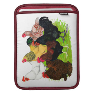 Heavy Rooster Assortment Sleeves For iPads